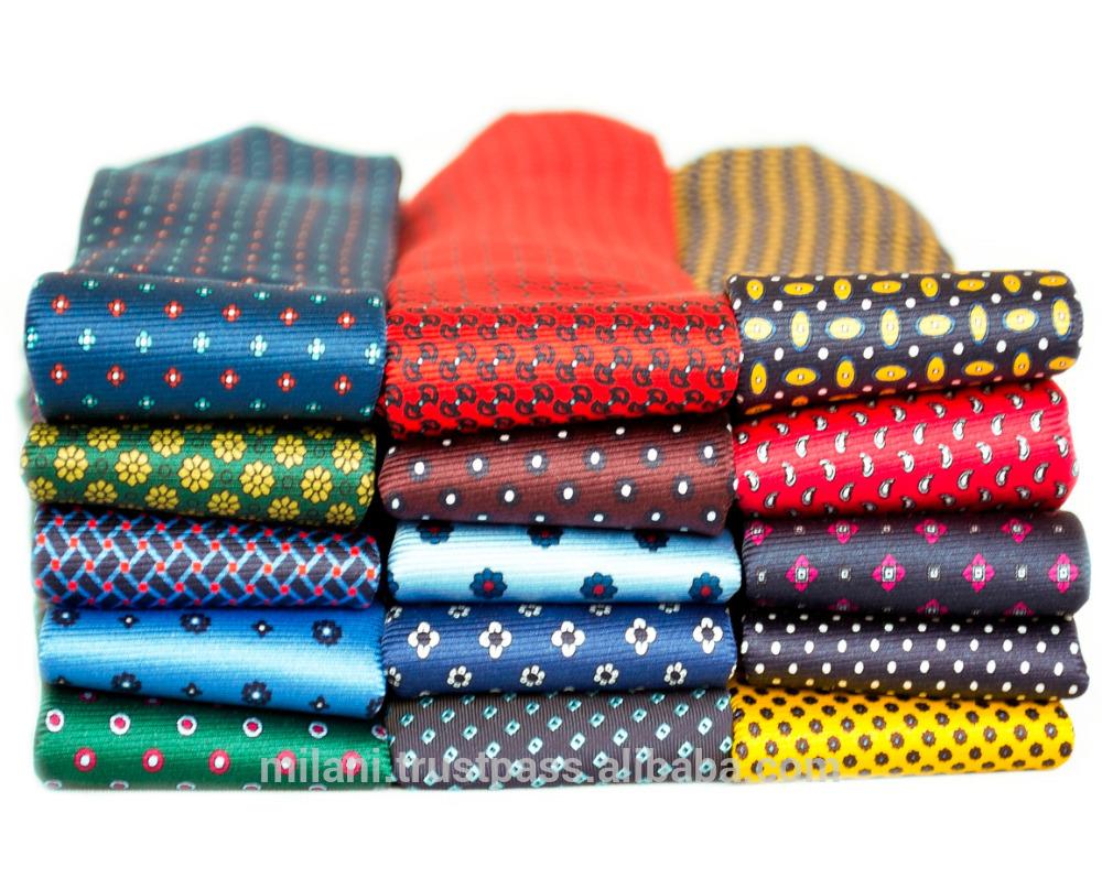 colourful handmade silk ties
