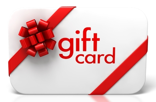 shopping gift card